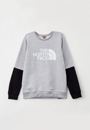 Свитшот The North Face. Цвет: серый