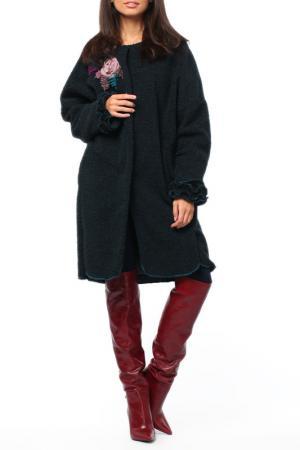Пальто Kata Binska. Цвет: малахитовый