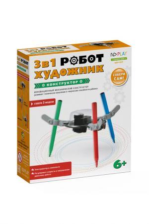 Конструктор Робот-художник ND PLAY. Цвет: мультицвет