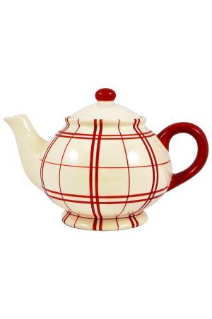 Чайник UNION. Цвет: красный