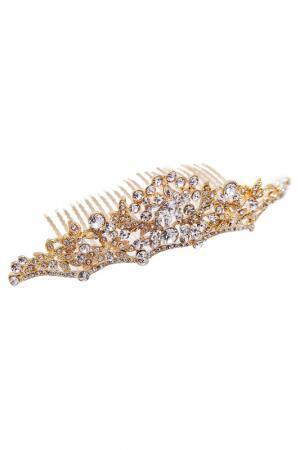 Диадема CRYSTAL HAIR. Цвет: золотой