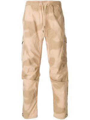 Спортивные брюки с принтом Maharishi. Цвет: телесный