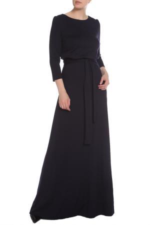 Платье La Reine Blanche. Цвет: тёмно-синий