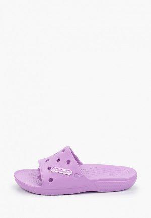 Сланцы Crocs. Цвет: фиолетовый
