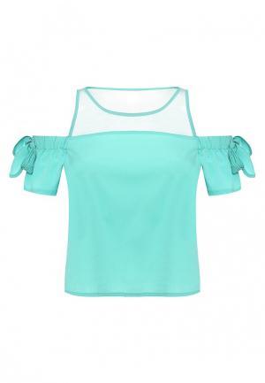 Блуза Tom Farr. Цвет: зеленый