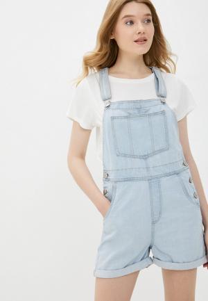 Комбинезон джинсовый Cotton On. Цвет: голубой