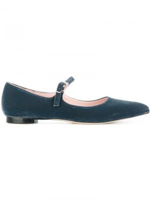 Балетки с заостренным носком Anna F.. Цвет: серый