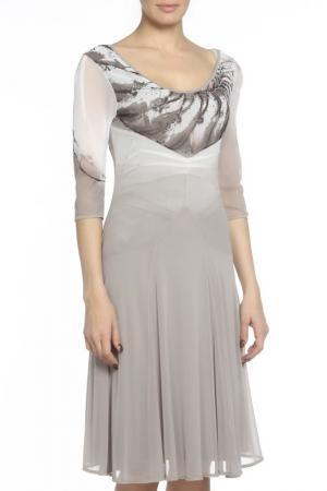 Платье DIDIER PARAKIAN. Цвет: серый
