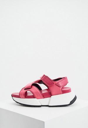 Сандалии MM6 Maison Margiela. Цвет: розовый