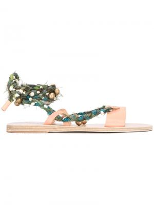 Сандалии Lachesis Ancient Greek Sandals. Цвет: телесный
