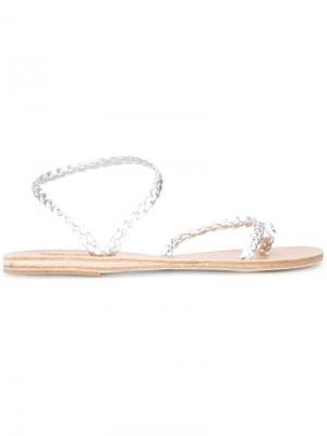 Сандалии Eleftheria Ancient Greek Sandals. Цвет: металлический