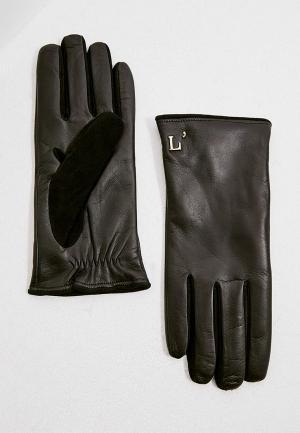 Перчатки LAutre Chose L'Autre. Цвет: черный