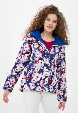 Куртка сноубордическая Roxy. Цвет: разноцветный