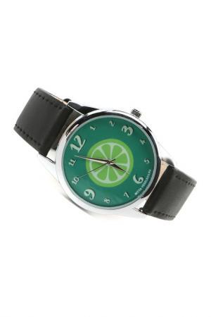 Часы Лайм MITYA VESELKOV. Цвет: зеленый