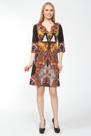 Платье ARRANGEE. Цвет: охра