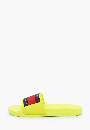 Сланцы Tommy Jeans. Цвет: желтый