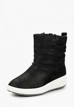 Полусапоги King Boots. Цвет: черный