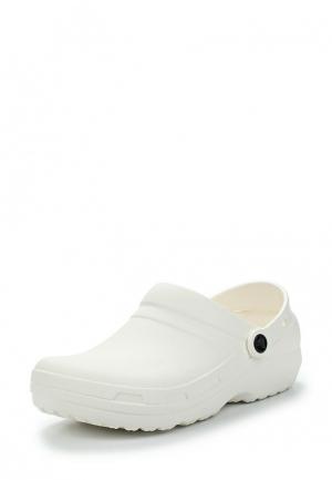 Сабо Crocs. Цвет: белый