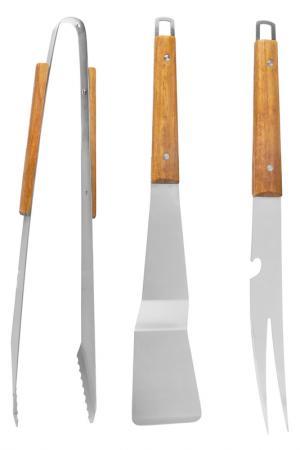 Набор для барбекю Sagaform. Цвет: коричневый
