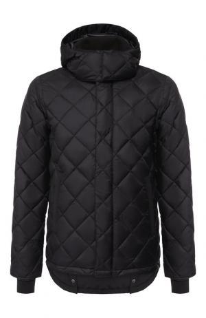 Пуховая куртка Hendriksen на молнии с капюшоном Canada Goose. Цвет: черный