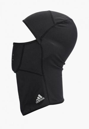Балаклава adidas. Цвет: черный