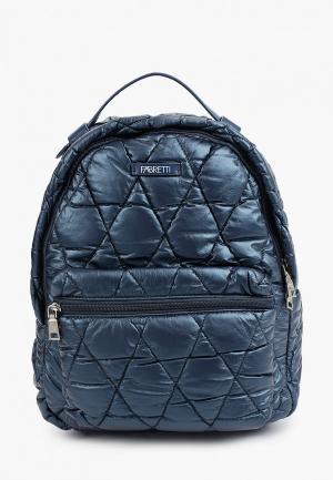 Рюкзак Fabretti. Цвет: синий