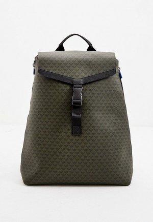 Рюкзак Emporio Armani. Цвет: хаки