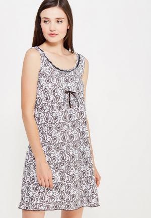 Сорочка ночная TrendyAngel. Цвет: коричневый