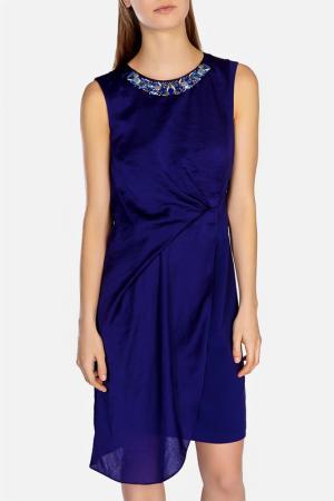 Платье KAREN MILLEN. Цвет: darblu