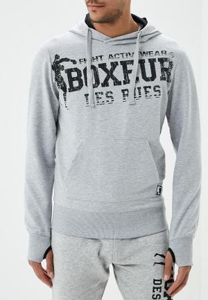 Худи Boxeur Des Rues. Цвет: серый