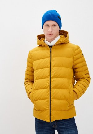 Куртка утепленная Geox. Цвет: желтый