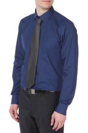 Рубашка MONDIGO. Цвет: темно-синий