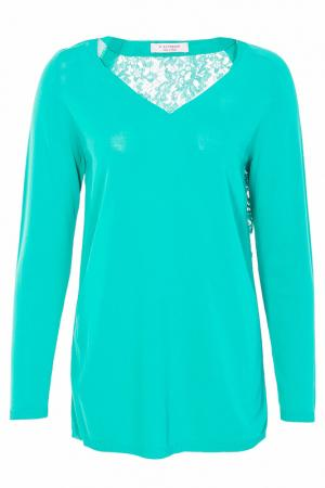 Блуза D.Exterior. Цвет: зеленый