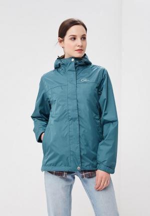Куртка Five Seasons. Цвет: зеленый