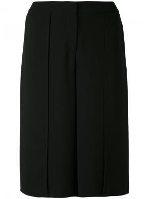 Классические удлиненные шорты Gareth Pugh. Цвет: чёрный