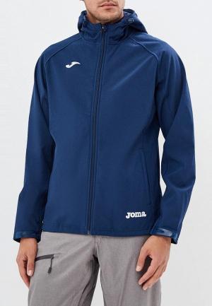 Куртка спортивная Joma. Цвет: синий