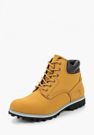 Ботинки Front By Ascot. Цвет: желтый