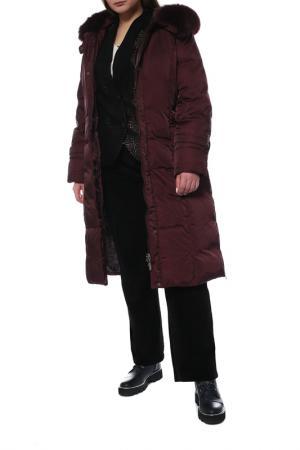 Пальто CITY CLASSIC. Цвет: бордовый