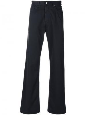 Слегка расклешенные джинсы Armani Jeans. Цвет: синий