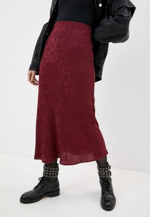 Юбка Iro. Цвет: бордовый