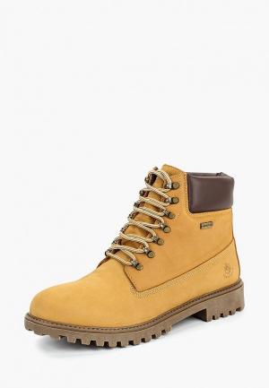 Ботинки LumberJack. Цвет: желтый