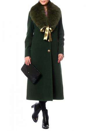 Пальто ROBERTO CAVALLI. Цвет: green шаль