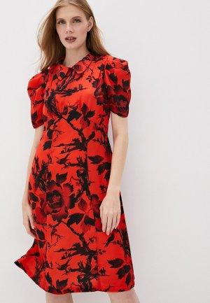 Платье McQ Alexander McQueen. Цвет: красный