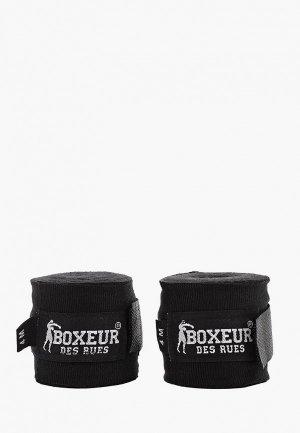 Бинт боксерский Boxeur Des Rues. Цвет: черный