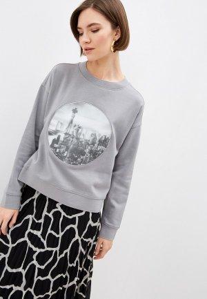 Свитшот DKNY. Цвет: серый