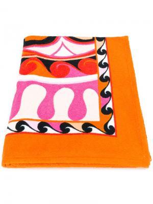 Пляжное полотенце Emilio Pucci. Цвет: многоцветный