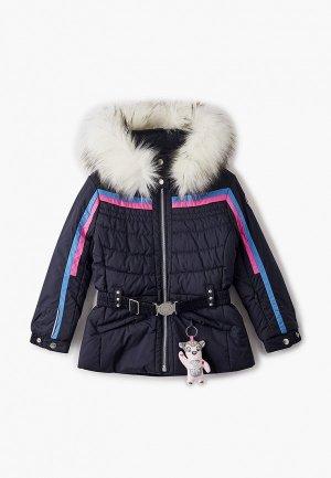 Куртка утепленная Poivre Blanc. Цвет: черный