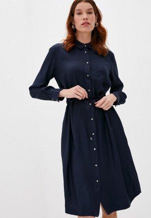 Платье Cappellini. Цвет: синий