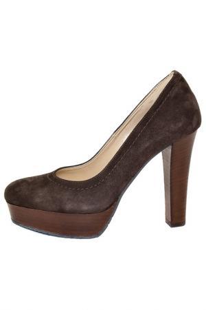 Туфли ALBANO. Цвет: коричневый