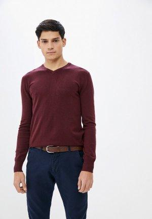 Пуловер Bakers Baker's. Цвет: бордовый